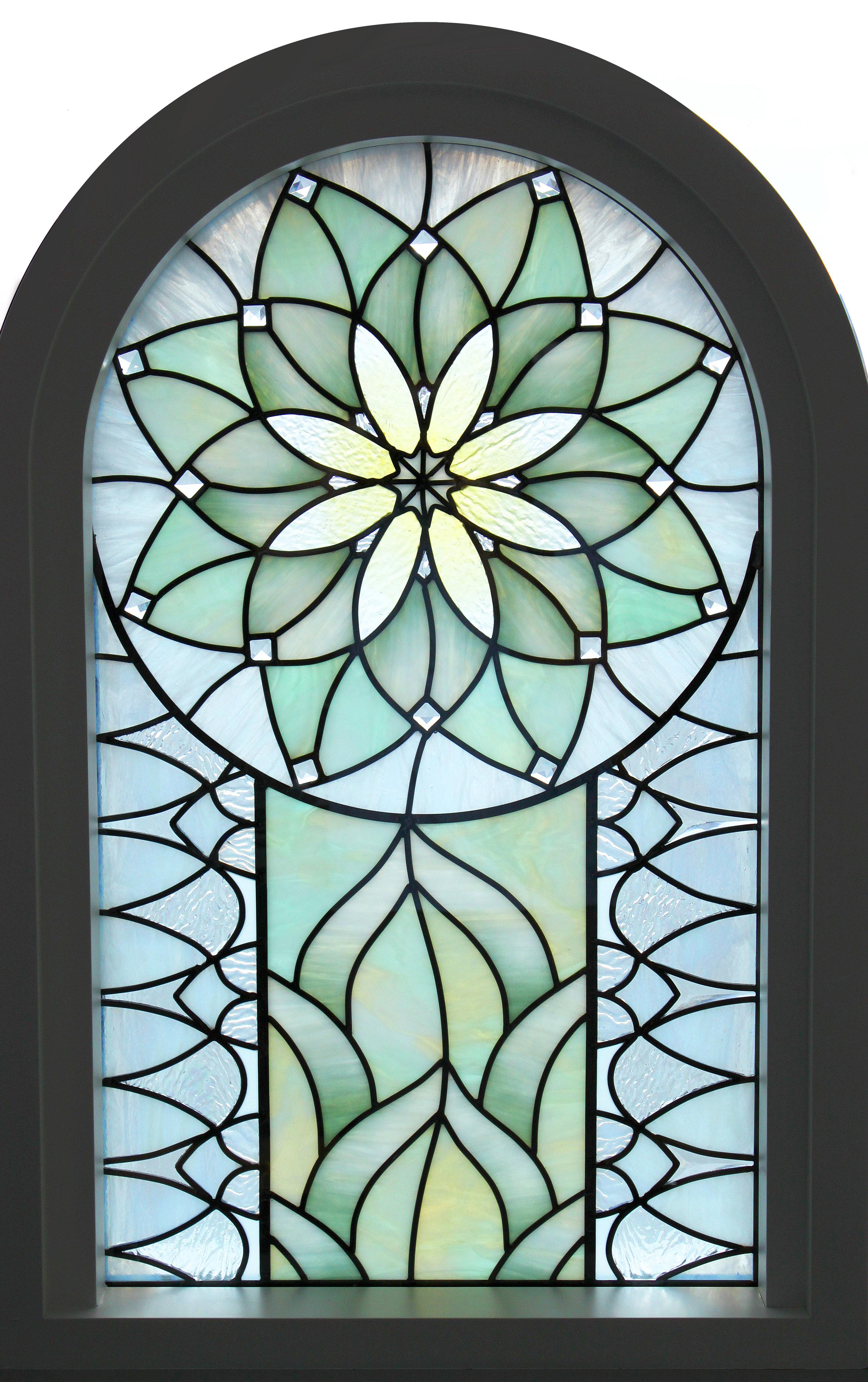 Holdman_Studios_Stained_Art_Glass_LDS_Mormon_Temple_Gilbert_Arizona_Agave_Plant_Sample_Window.jpg