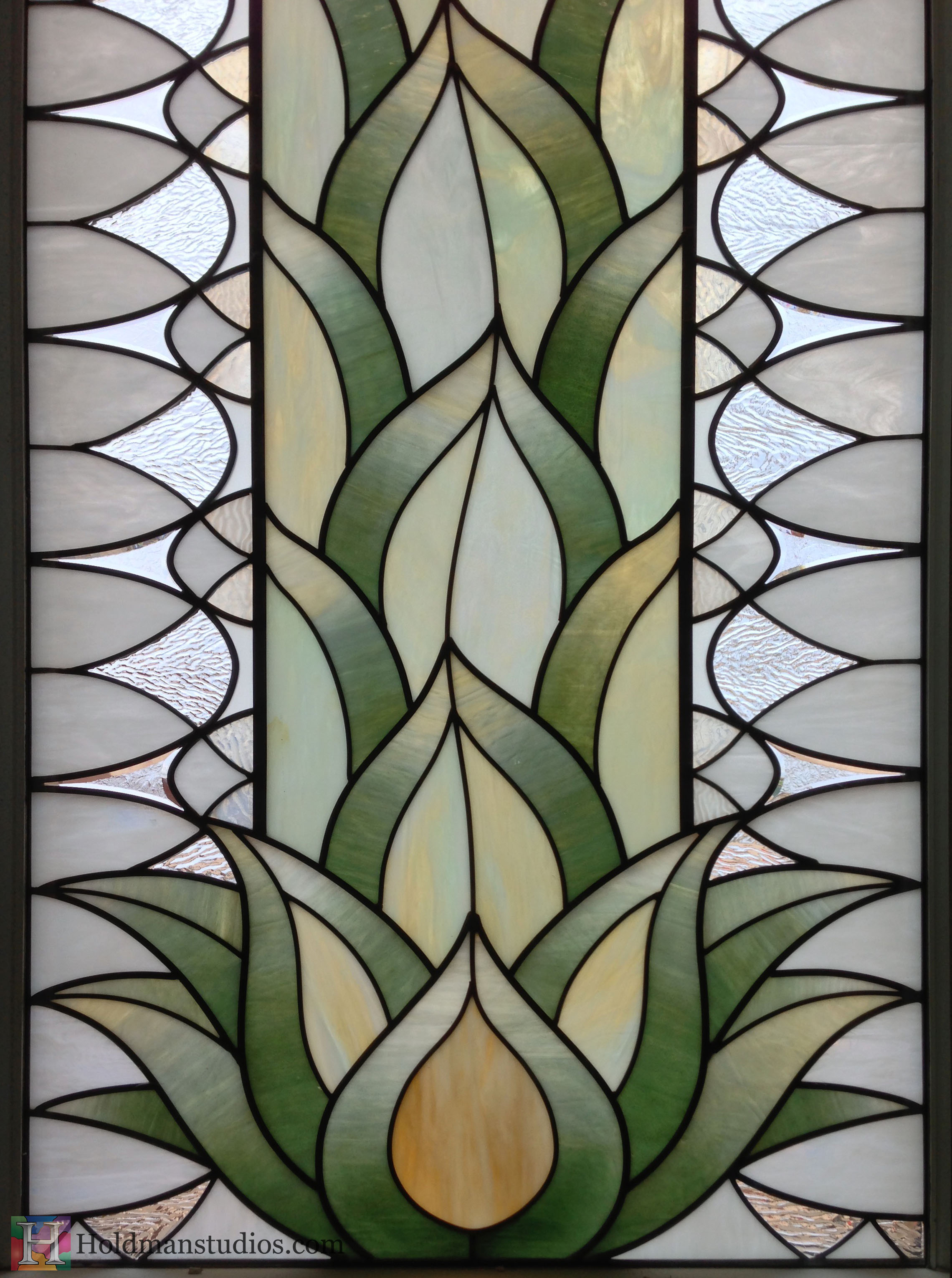 Holdman_Studios_Stained_Art_Glass_LDS_Mormon_Temple_Gilbert_Arizona_Agave_Plant_Closeup.jpg