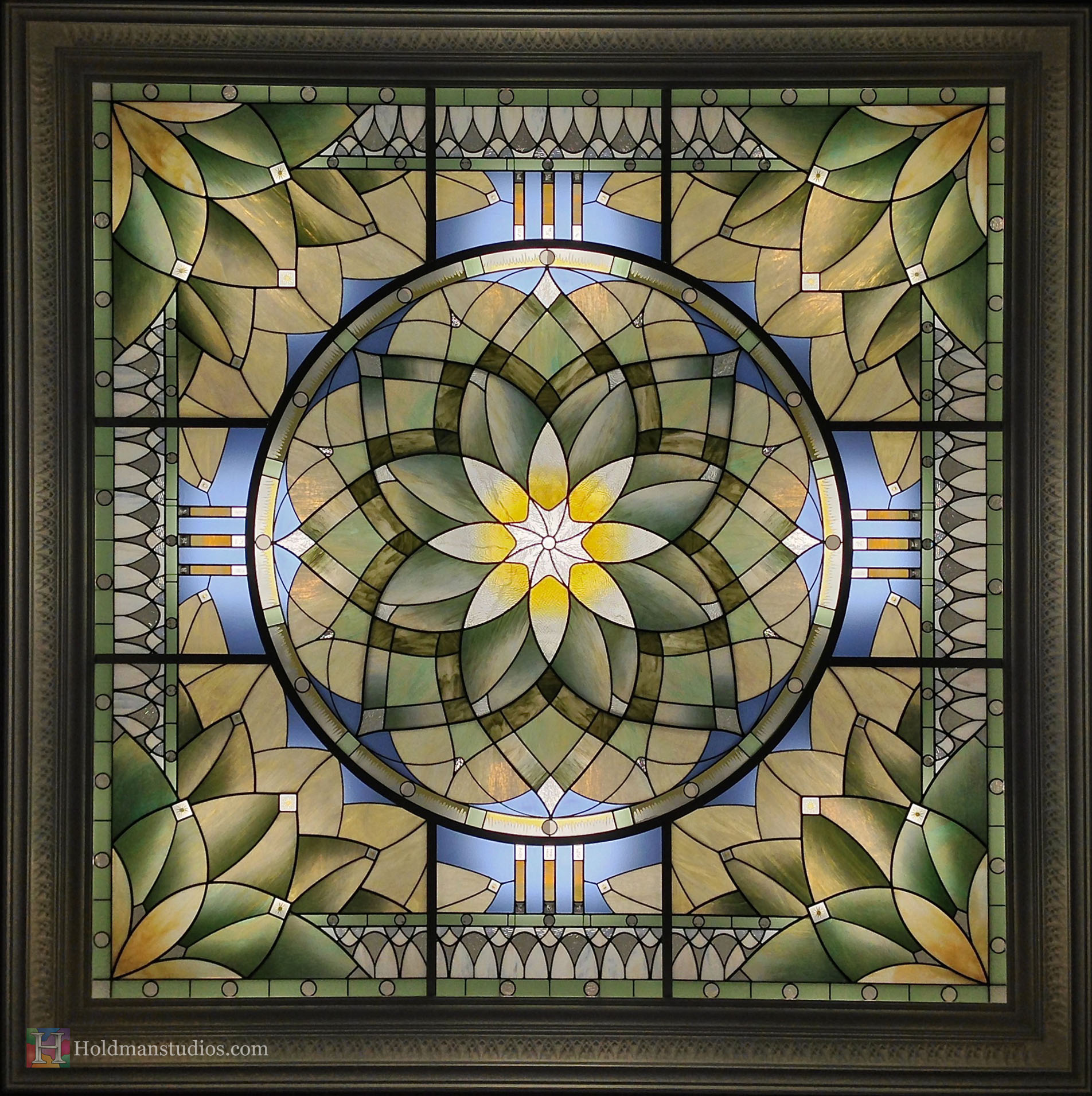 Holdman_Studios_Stained_Art_Glass_LDS_Mormon_Temple_Gilbert_Arizona_Agave_Plant_Marriage_Waitingroom_Skylight.jpg
