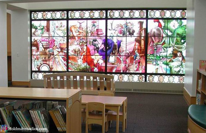 Stained Glass_Orem, Utah City Library 2.jpg