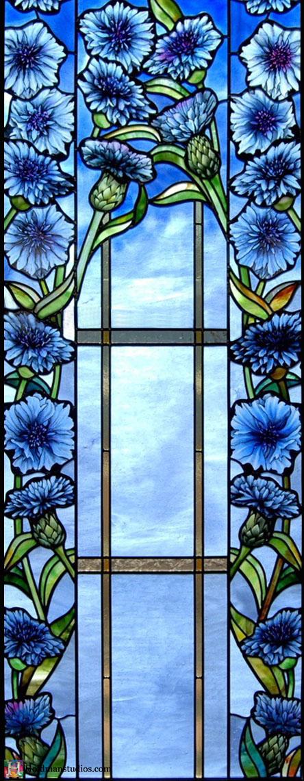 Holdman-Studios-Stained-Glass-Paris-LDS-Temple-Cornflower-Blue-Lily-Flowers-Leaves-Windows.jpg
