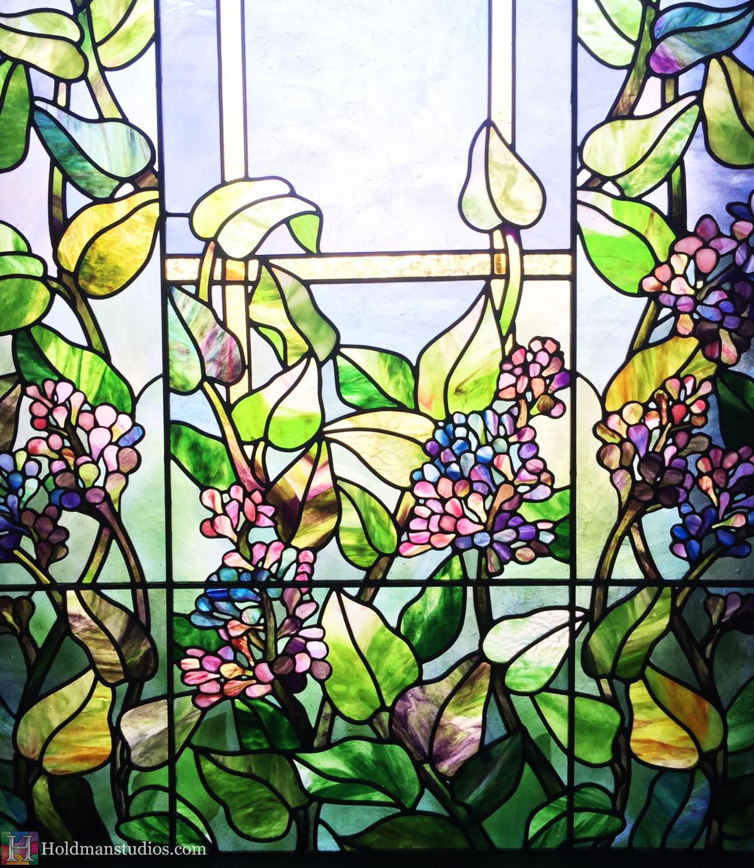 Holdman-Studios-Stained-Glass-Paris-LDS-Temple-Lilac-Flowers-Leaves-Window-Closeup.jpg
