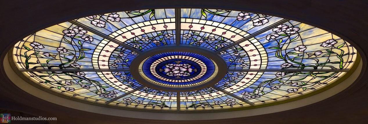 Holdman-Studios-Stained-Glass-Paris-LDS-Temple-Martagon-Lily-Flowers-Sun-Moon-Stars-Skylight-Window.jpg