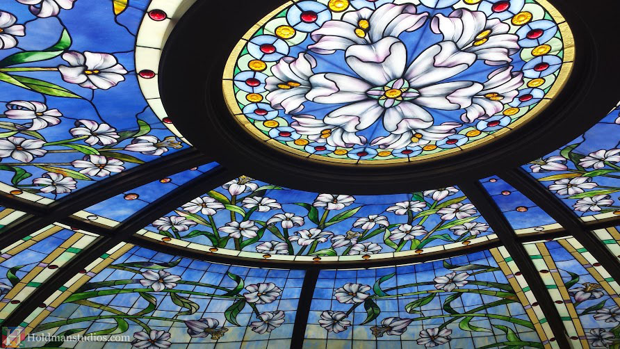 Holdman-Studios-Stained-Glass-Paris-LDS-Temple-Martagon-Lily-Flower-Sun-Moon-Stars-Skylight-Window.jpg