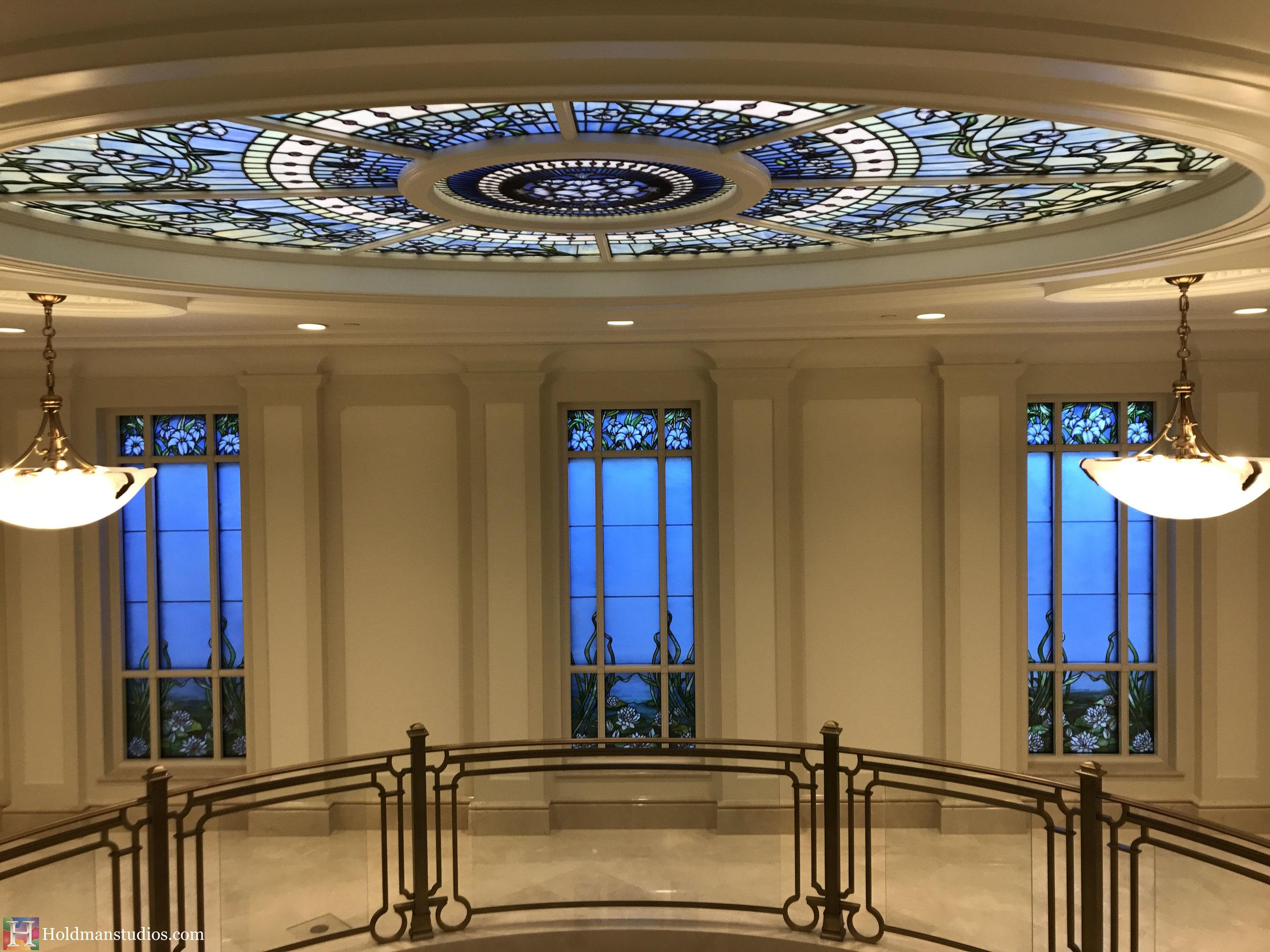 Holdman-Studios-Stained-Glass-Paris-LDS-Temple-Madonna-Martagon-Water-Lily-Flowers-Leaves-Sun-Moon-Stars-Skylight-Windows.jpg
