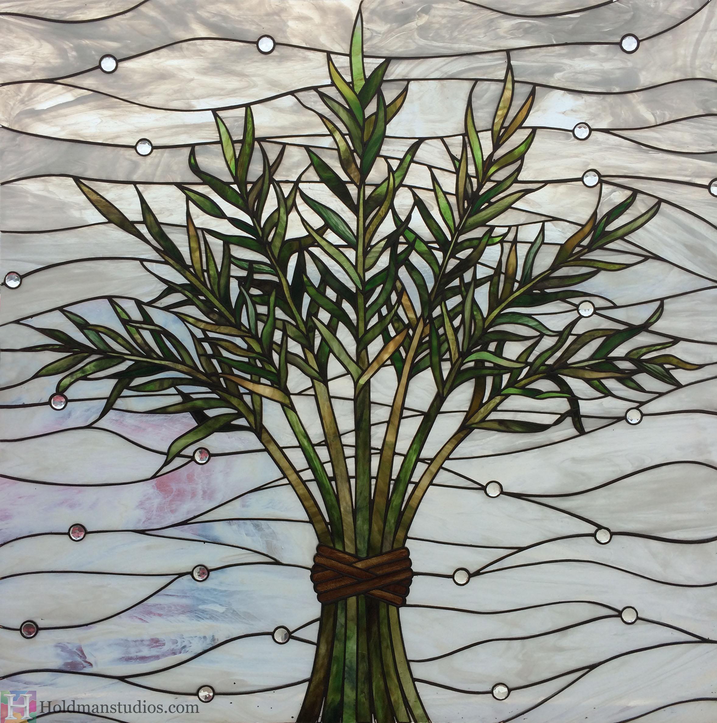 Holdman-Studios-Stained-Glass-Window-Harvest-Branches-Palm-Leaves-Full.jpg