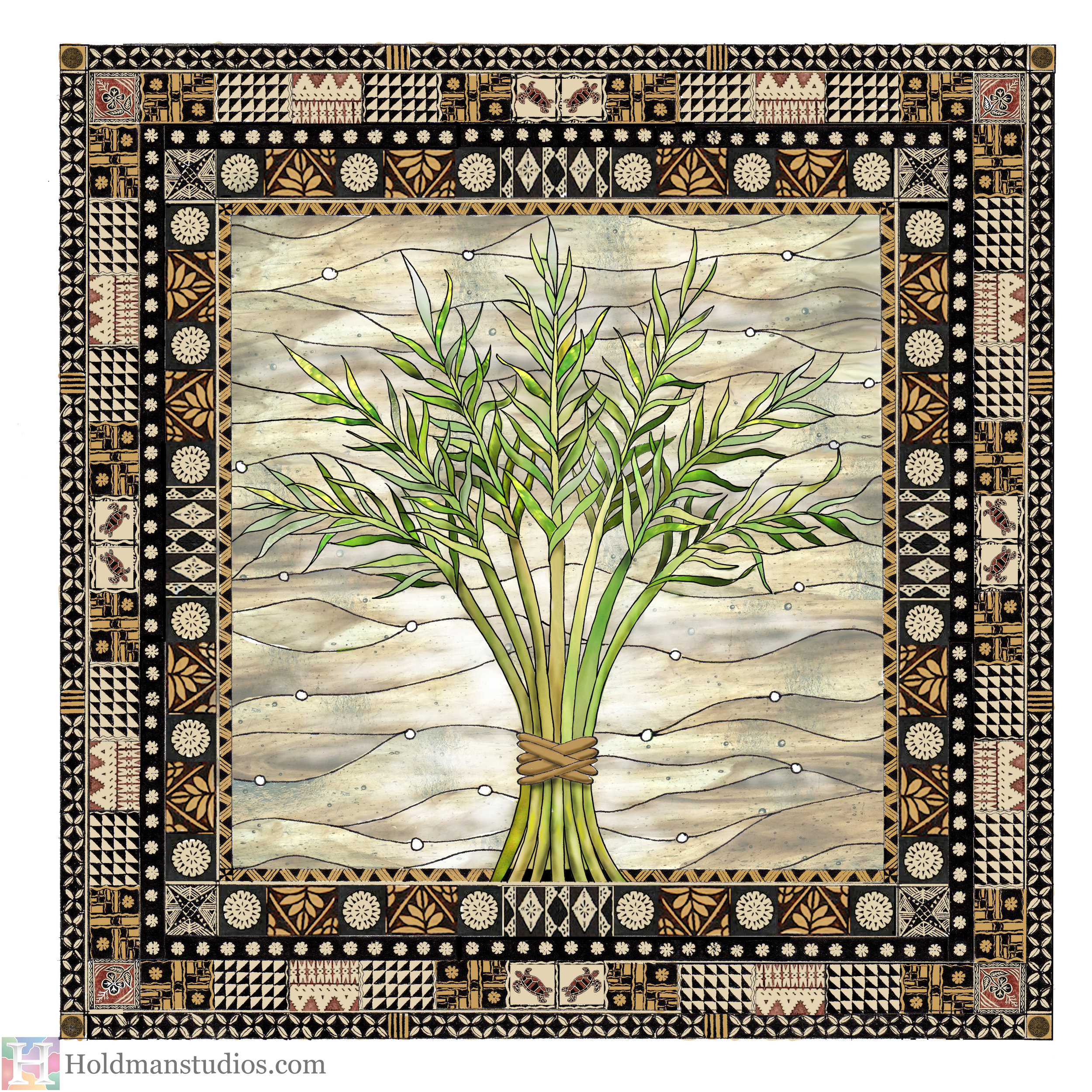 Holdman-Studios-Stained-Glass-Window-Harvest-Branches-Palm-Leaves-With-Border.jpg