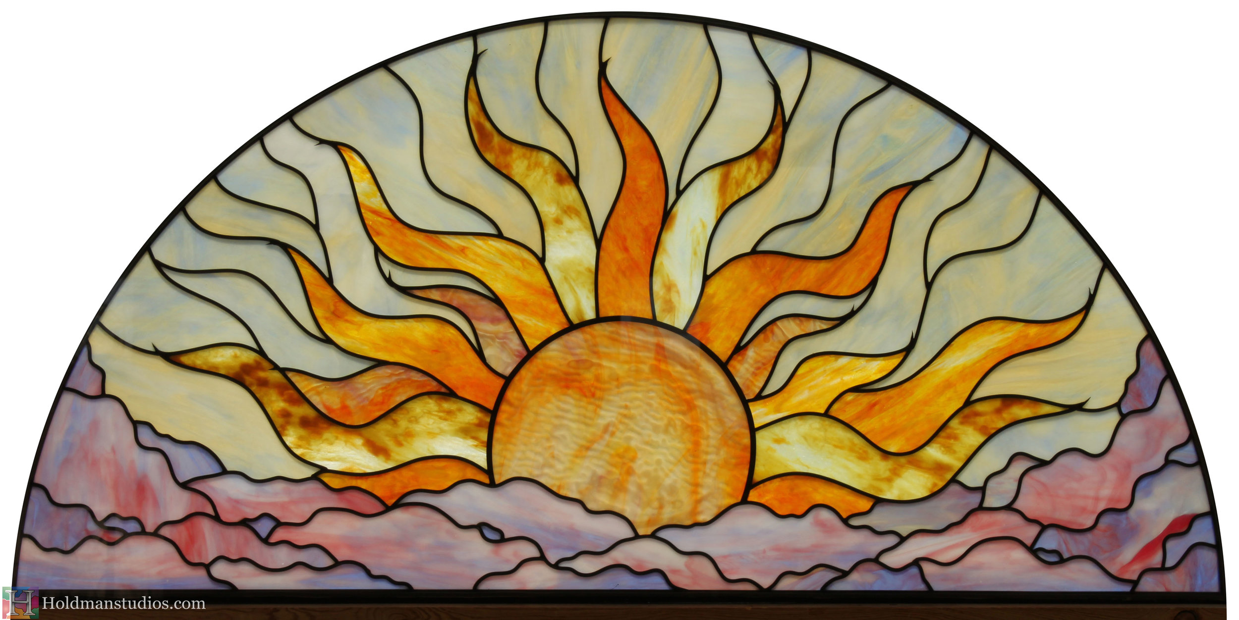 Holdman-Studios-Stained-Glass-Lunette-Window-Sun-Sky-Clouds-White-Background.jpg