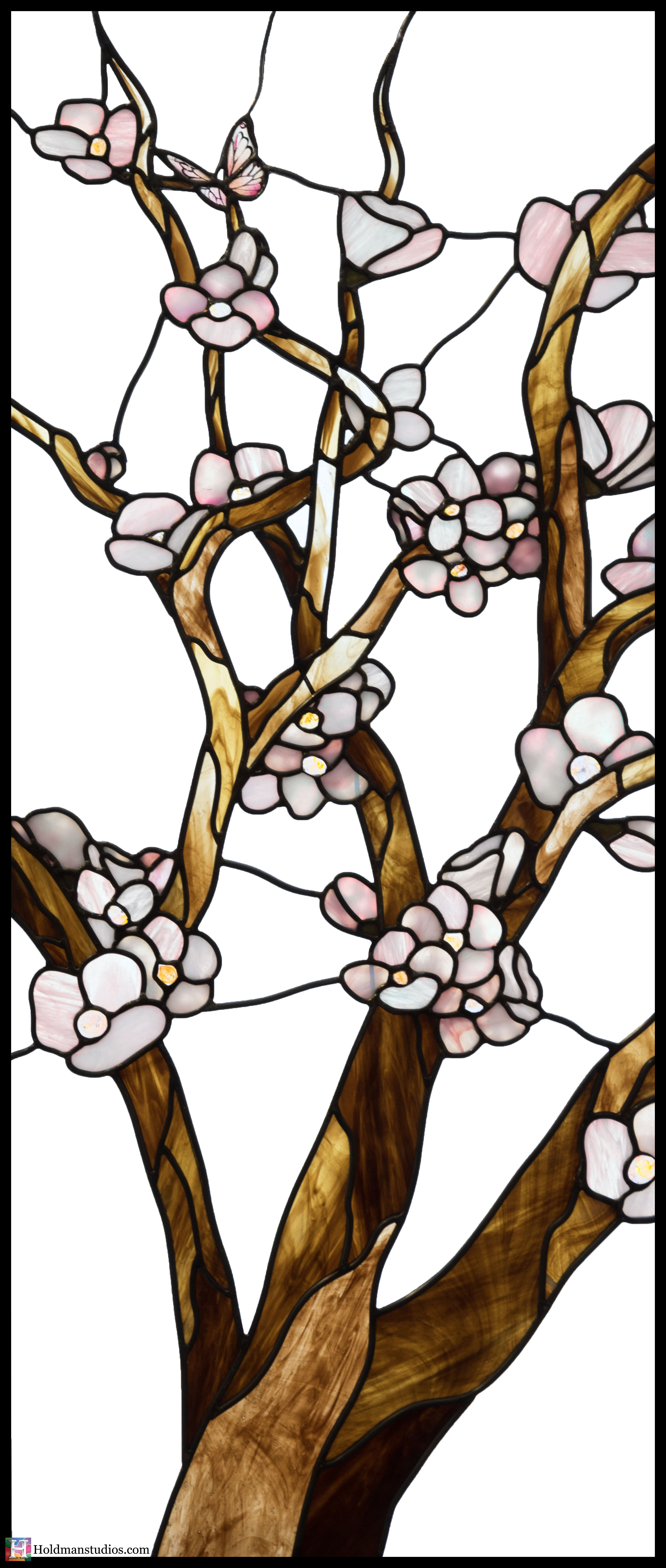 Holdman-Studios-Stained-Glass-Window-Cherry-Tree-Branches-Blossom-Flowers-Butterfly.jpg