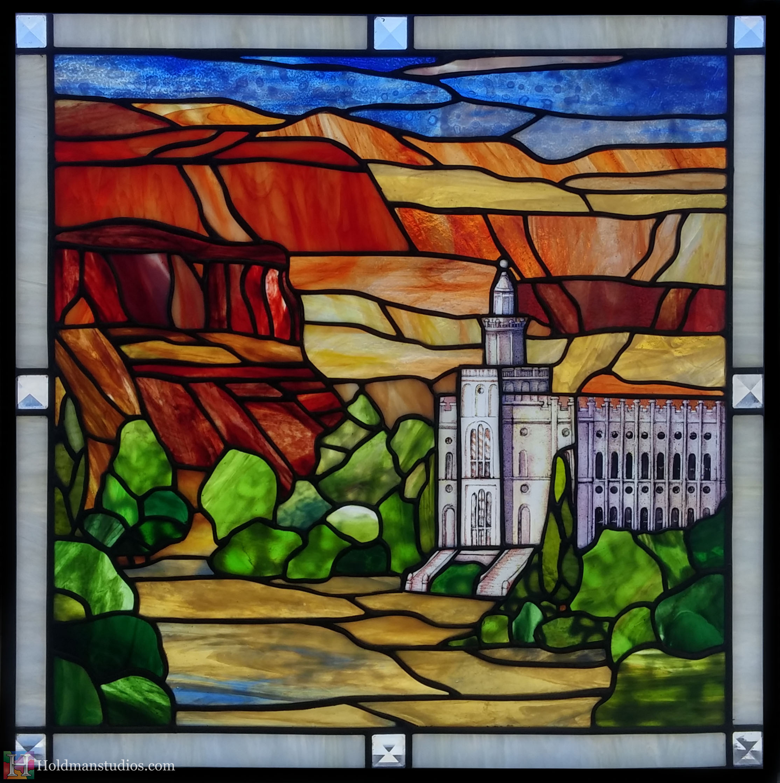 Holdman-Studios-Stained-Glass-Window-LDS-Temple-Manti-Utah-Mountians-Trees-Sky2.jpg