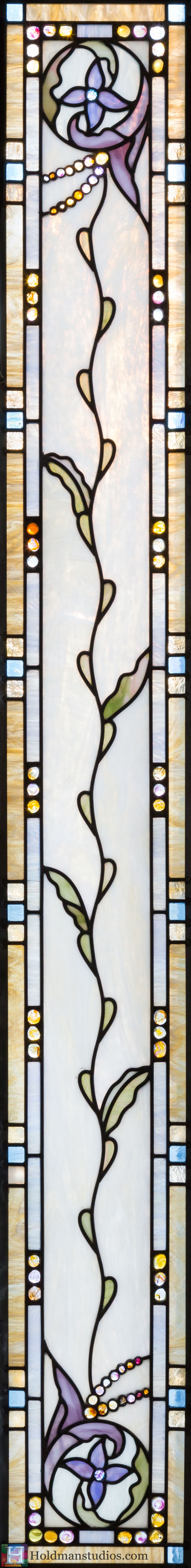 Holdman-Studios-Stained-Glass-Transom-Window-Flowers-Floral-Pattern-Handmade-Jewels-Square-Rectangles.jpg