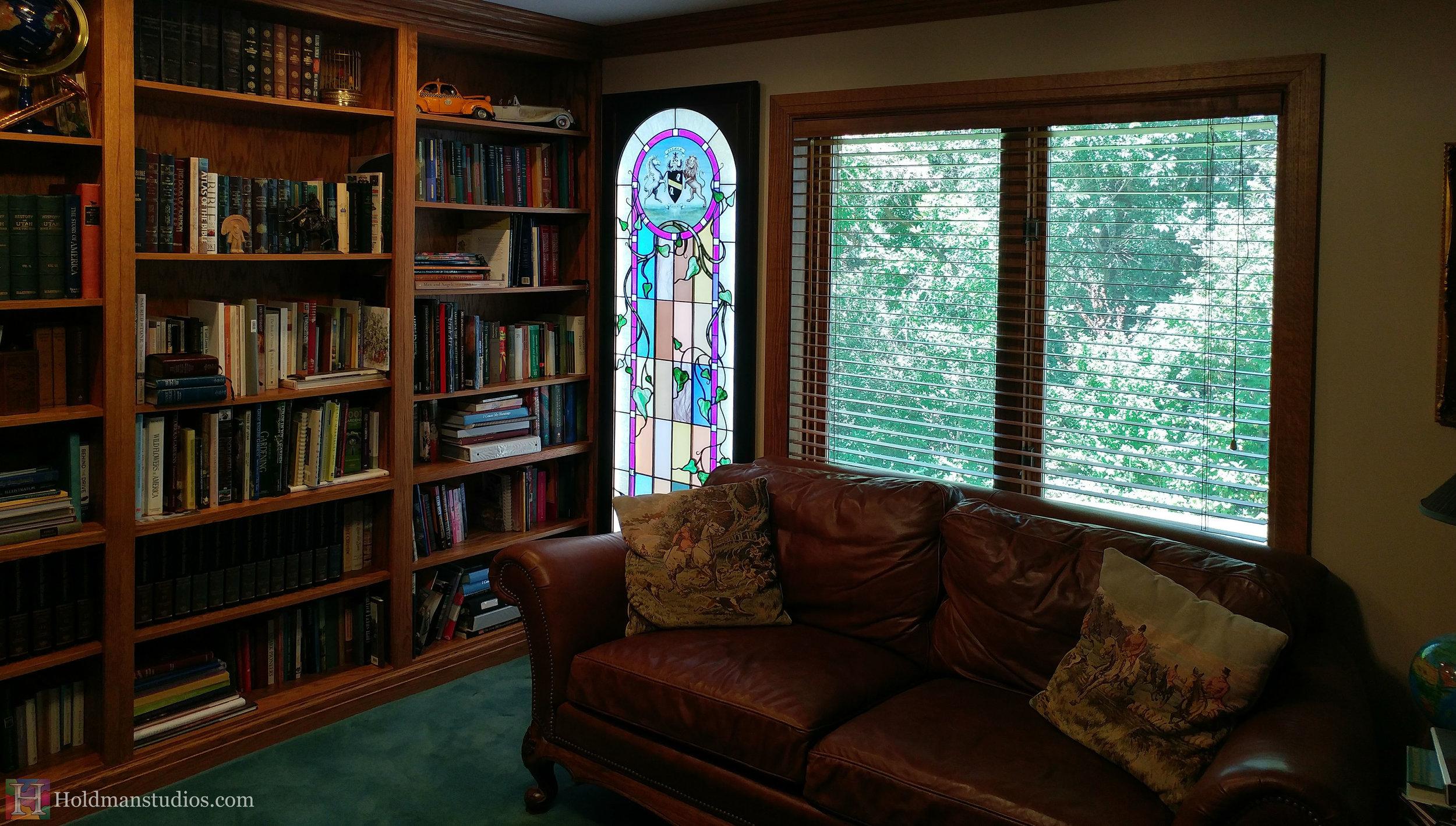 Holdman-studios-stained-glass-study-window-per-ardus-surgo-vine-leaves-plants-lion-unicorn-coat-of-arms-2.jpg