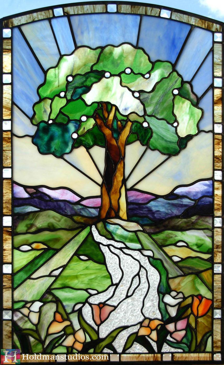 Holdman-Studios-Stained-Glass-Window-Tree-of-Life-Fruit-River-Tulip-Flowers-Mountains-Sky.jpg