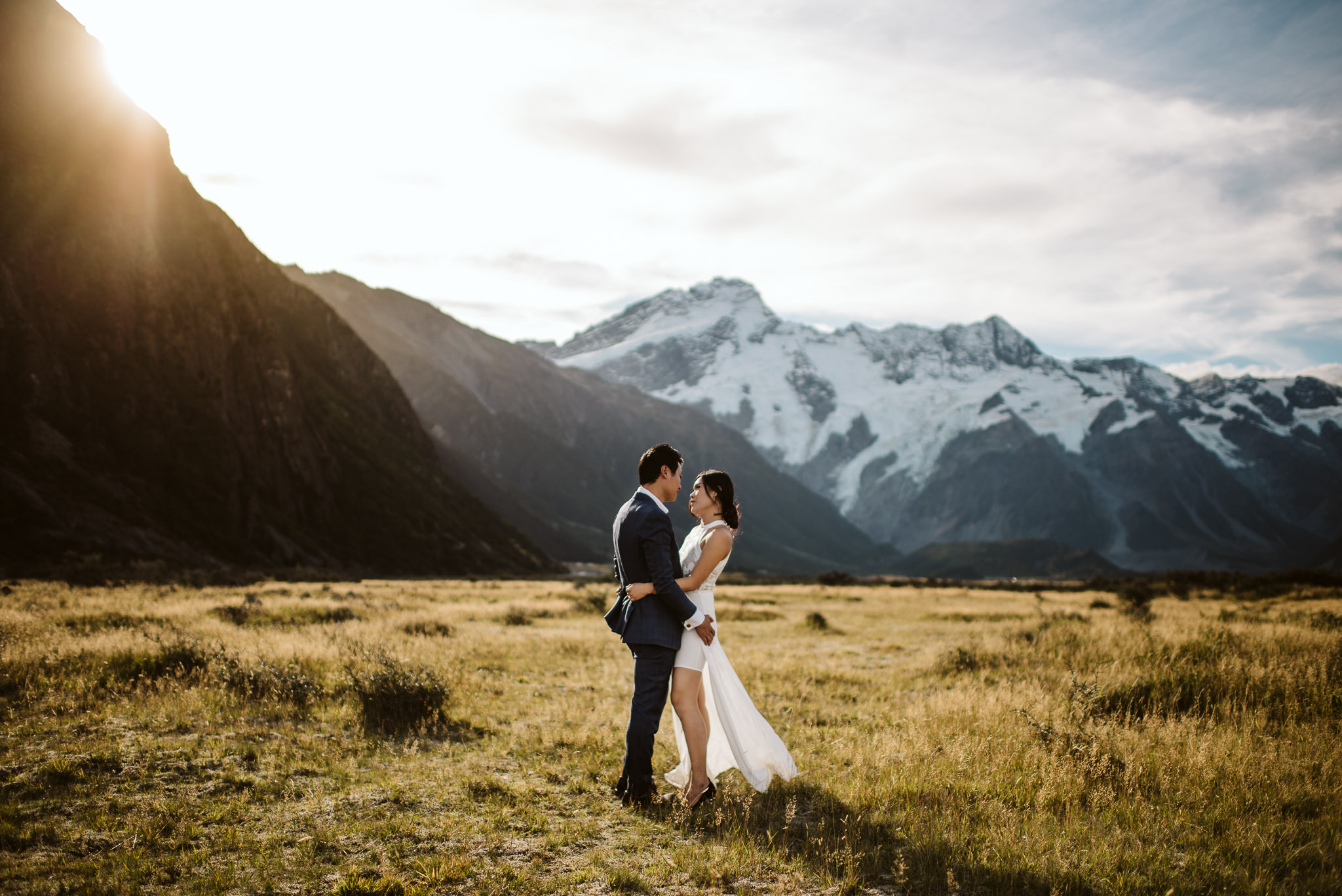 MT COOK  Venture about the shores of the incredible crystal clear Lake Pukaki before meandering up the road to the base of the giant Mt Cook Range and Aoraki National Park. Also a good option to sample some local Sashimi!
