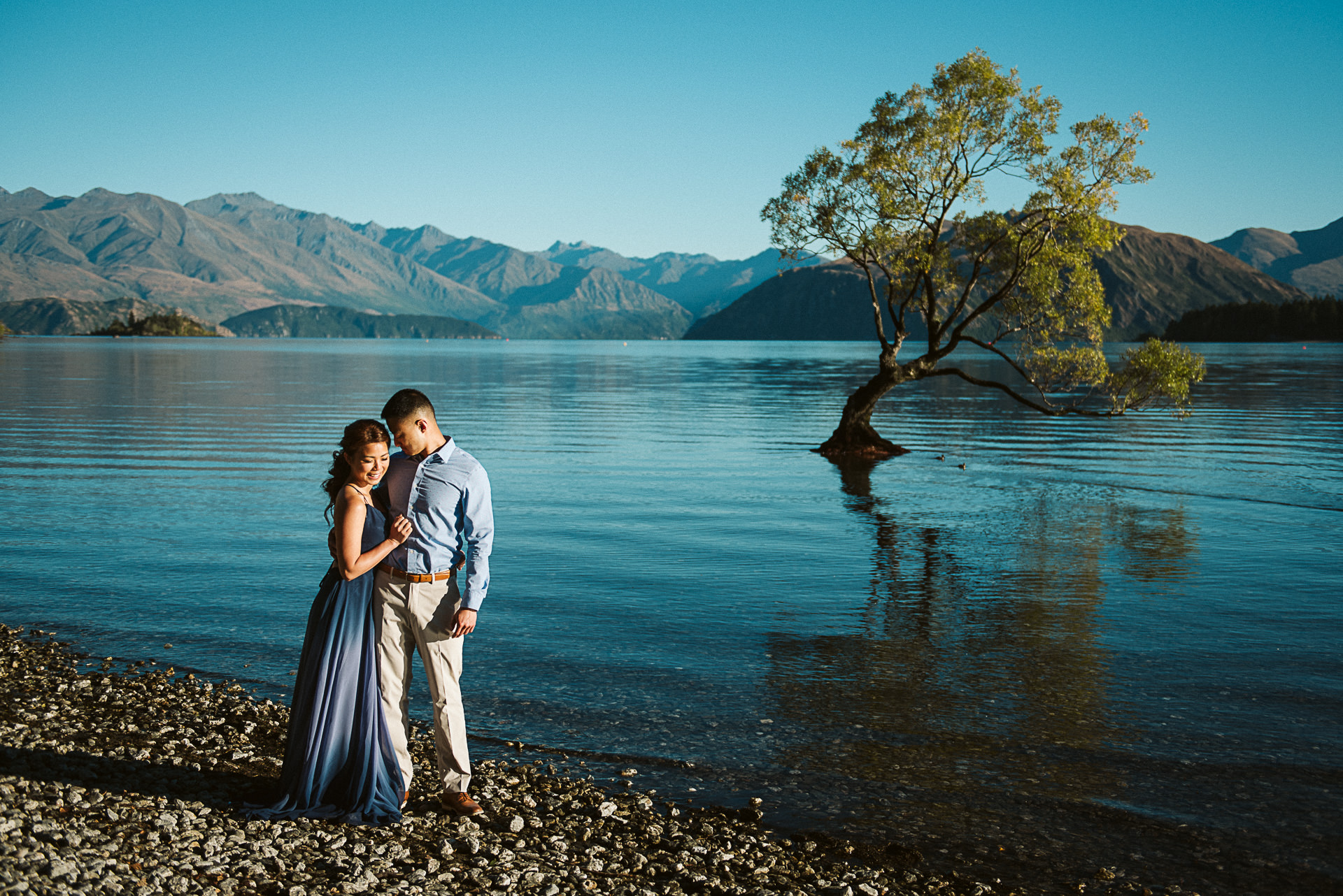 LAKE WANAKA  My hometown, Lake Wanaka. A relaxed alpine village that looks out over the lake, forests and rivers up to the mountains. We can visit the mighty Mt Aspiring National Park or head up into the breath-taking Crown Range.