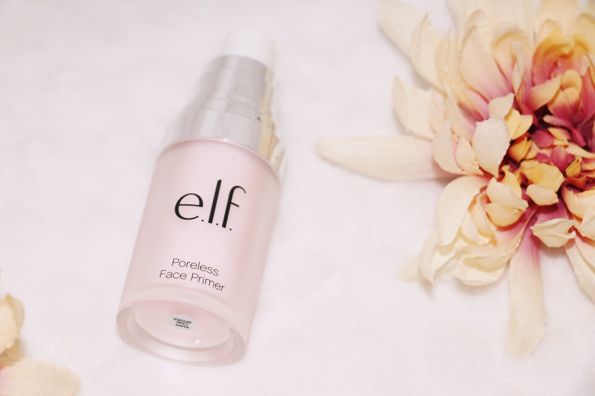 2) E.L.F. Poreless Face Primer  THIS IS AMAZING. Not kidding. When I started using this, it was right before Thanksgiving and my family was so curious as to how my face looked so smooth. Long story short, both of my sisters now use it and love it as well! This product is so smooth. I have combination skin and I usually have issues with product clinging to my dry spots, or getting too oily in my t zone. This primer works great for me and I totally recommend it! Best part? It's only $6! I got mine at Target, but you can also order it  here.