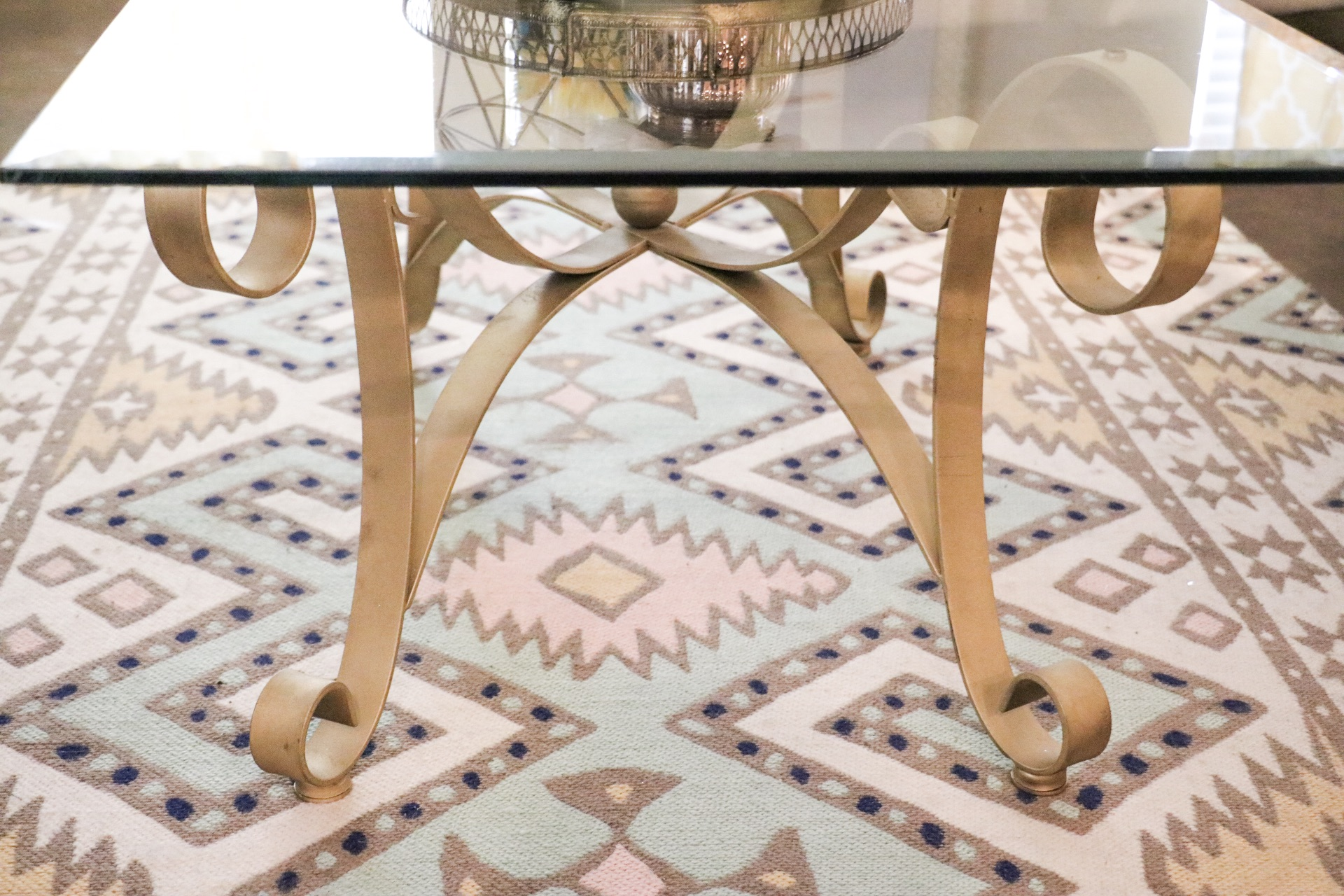 If you're looking for a gold table, check out  these!  This one  is beautiful too.