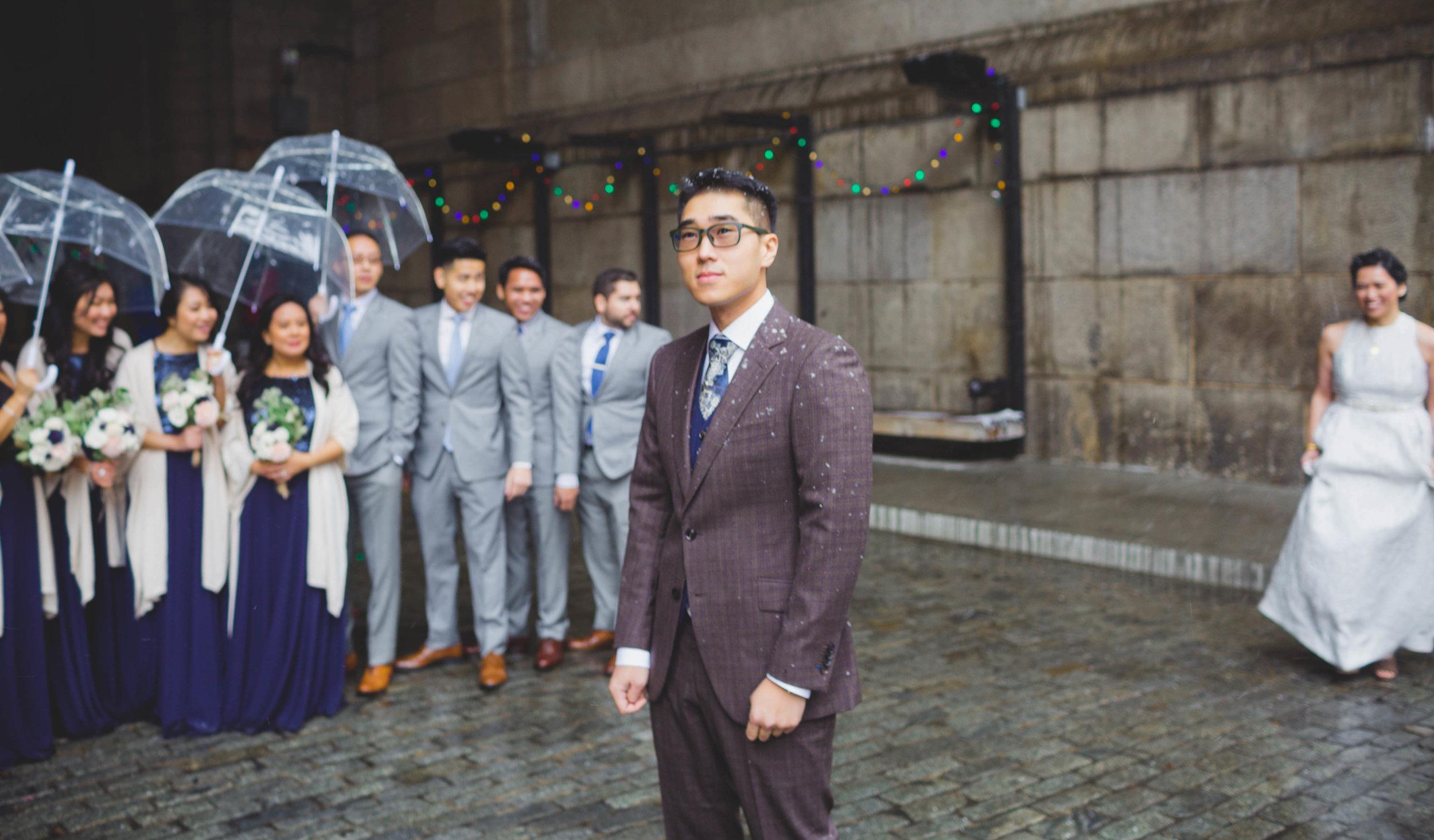 DUMBO December Wedding 2017 Under Manhattan Bridge Snow (3 of 23).jpg