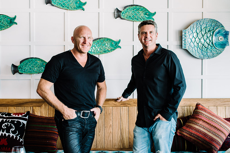Matt Moran and Peter Sullivan
