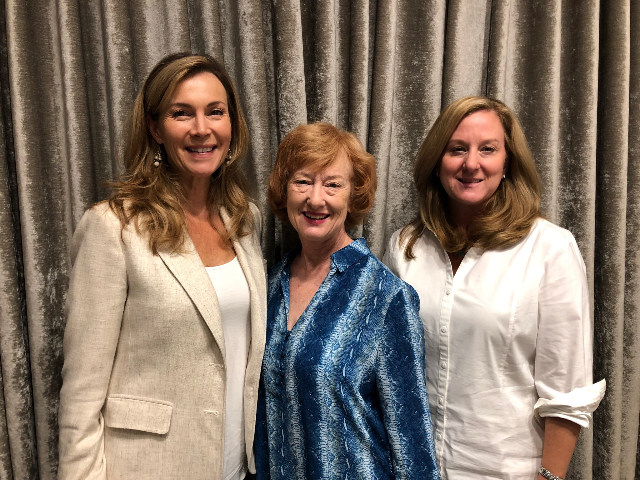 2019-2020 Leadership Team: Leisha Nischan, Jocelynne McCall, Mary Lampley (left to right)