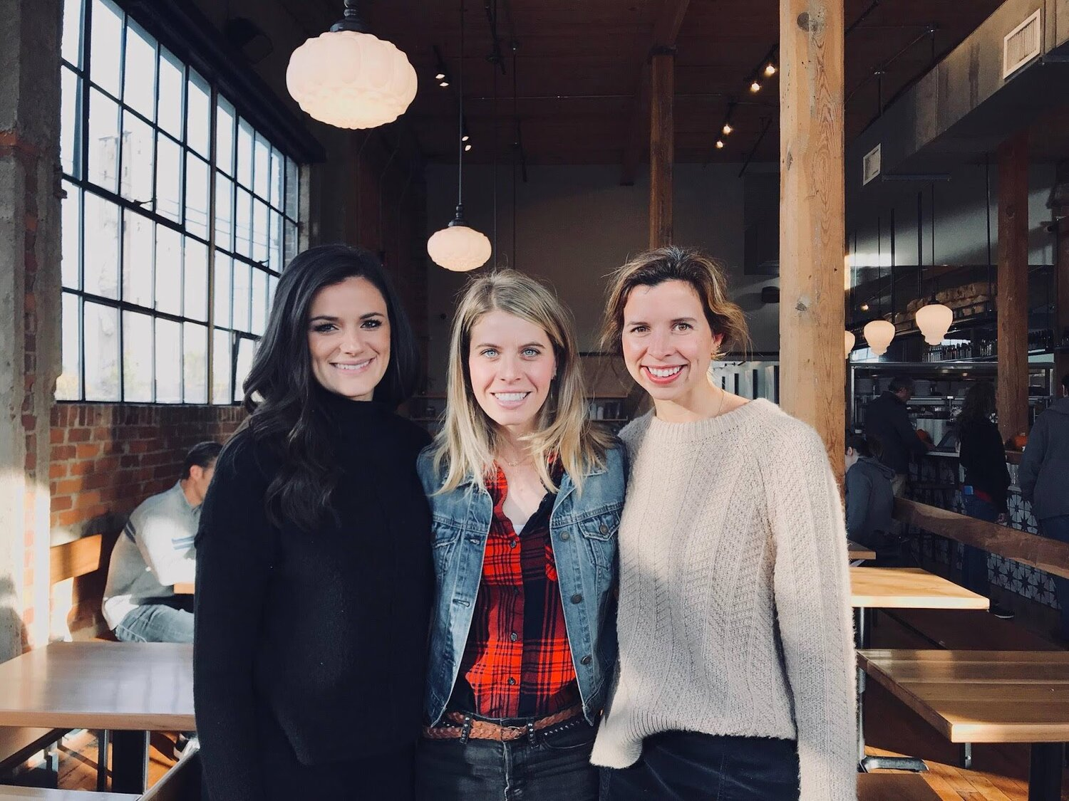 Maddy Jenney, Kelly Bradway, and Helen Lee lead the Preston Taylor Ministries Missional Community.