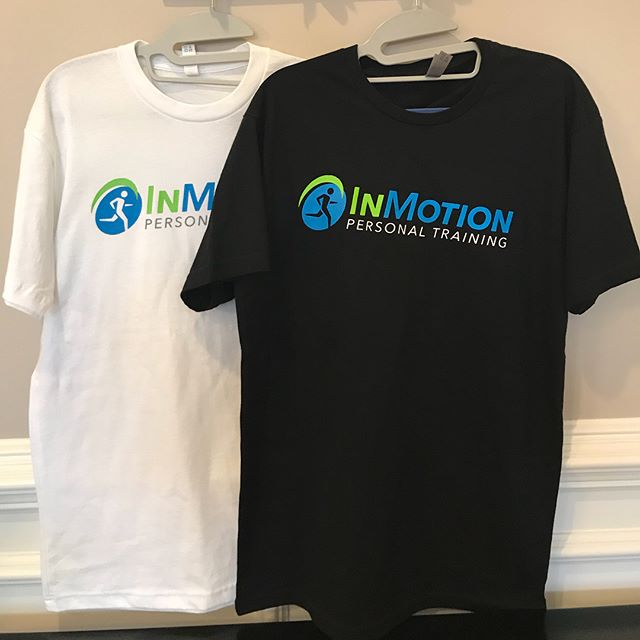 "Thanks to @oneoff_apparel for the new 🔥t-shirts! ""A Body InMotion Stays InMotion"" #InMotion #Personaltraining #Shrewsbury #weightlossjourney #fitnessmotivation #gymmotivation #exerciseroutine #injuryfree #healthandwellness #liveandlearn #new"