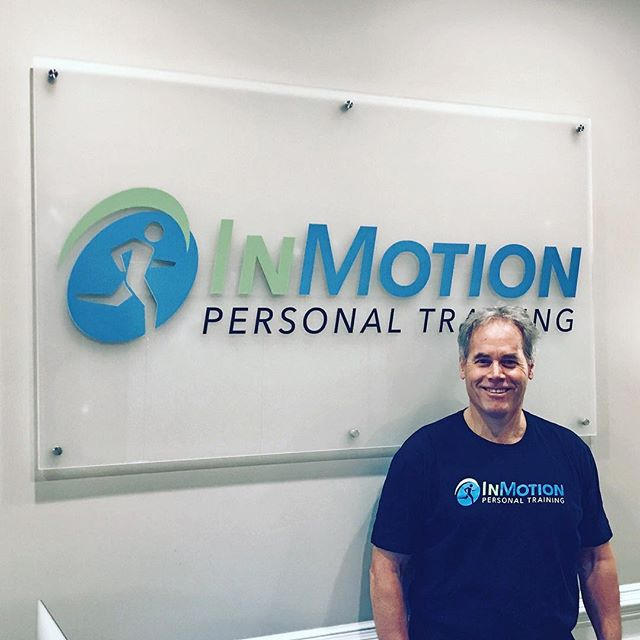 "Our client, Bill Peckham, is rocking our InMotion t-shirt😎 ""A Body In Motion, Stays In Motion""  #personaltrainer #personaltraining #fitnessmotivation #shrewsbury #fitness #behealthy #gym #exercises #workhardplayhard #workouts #workoutmotivation #getstrong #fitnessinstruction"