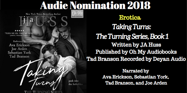 Taking Turns - 2018 Audie Nominee for Best Erotica