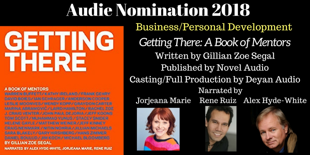 Getting There - 2018 Audie Nominee for Best Business / Personal Devlopment