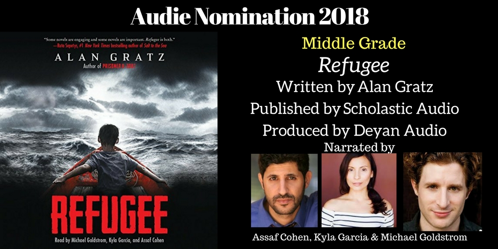 Refugee - 2018 Audie Nominee Best Middle Grade