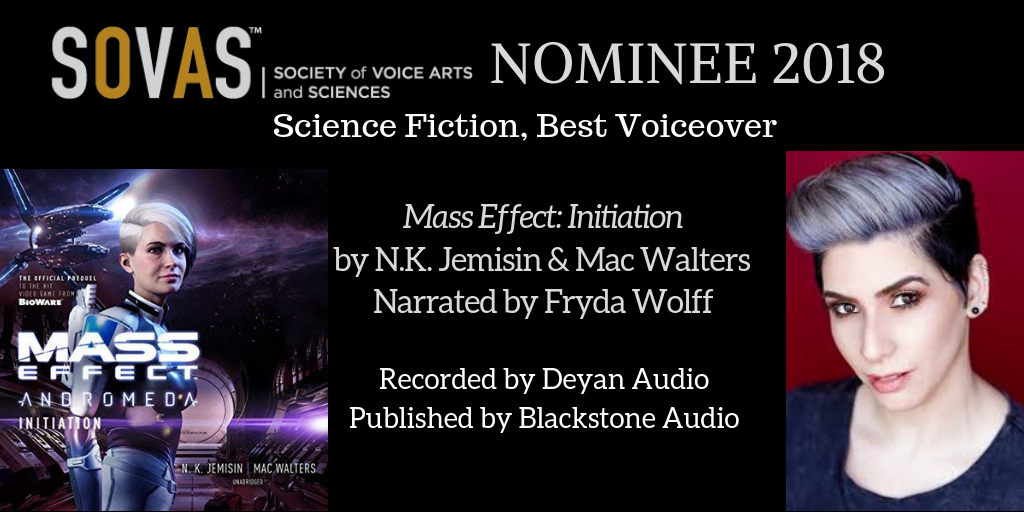 Mass Effect: Initiation  //  Blackstone Audio  // Narrated by  Fryda Wolff  // Recording