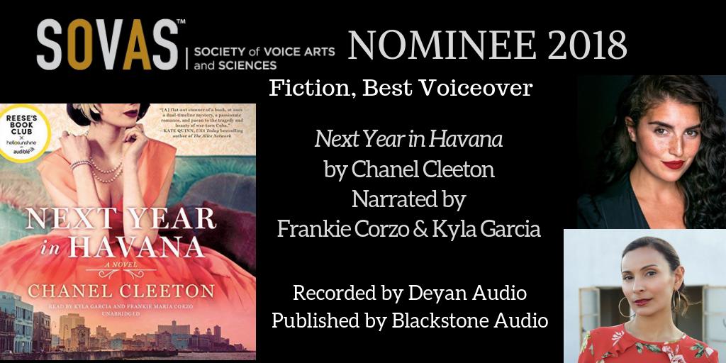Next Year in Havana  //  Blackstone Audio  // Narrated by  Frankie Corzo  &  Kyla Garcia  // Recording