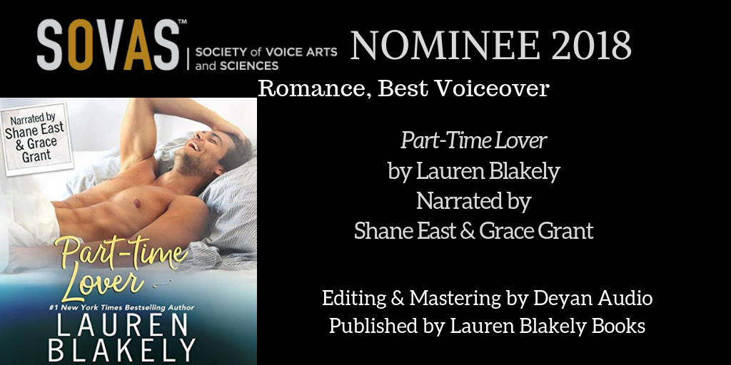 Part-Time Lover  // Lauren Blakely Books // Narrated by Shae East and Grace Grant // Post-Production
