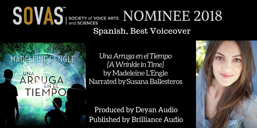 Una Arruga en el Tiempo  //  Brilliance Audio  // Narrated by  Susana Ballesteros  // Full Production
