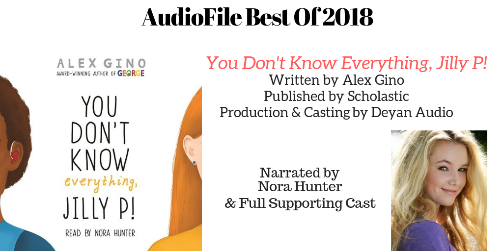 You Don't Know Everything, Jilly P  - Audiofile Best of 2018.png