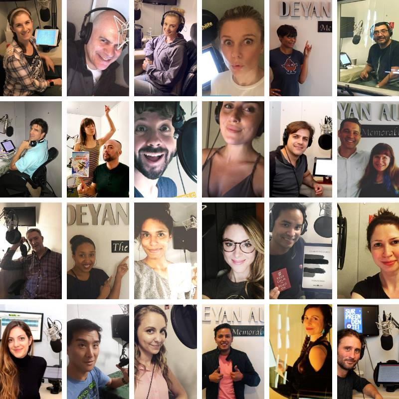 Deyan Audio - Team Deyan Narrators