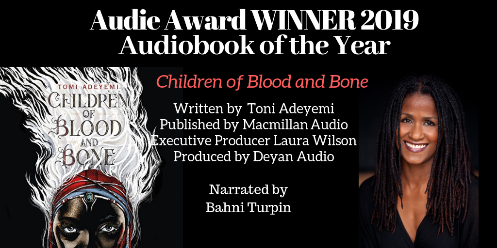 Children of Blood and Bone - Audiobook of the Year