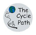 the cycle path