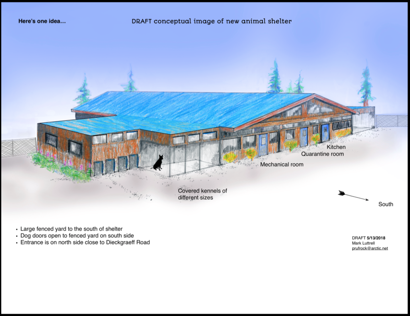 New Seward Animal Shelter