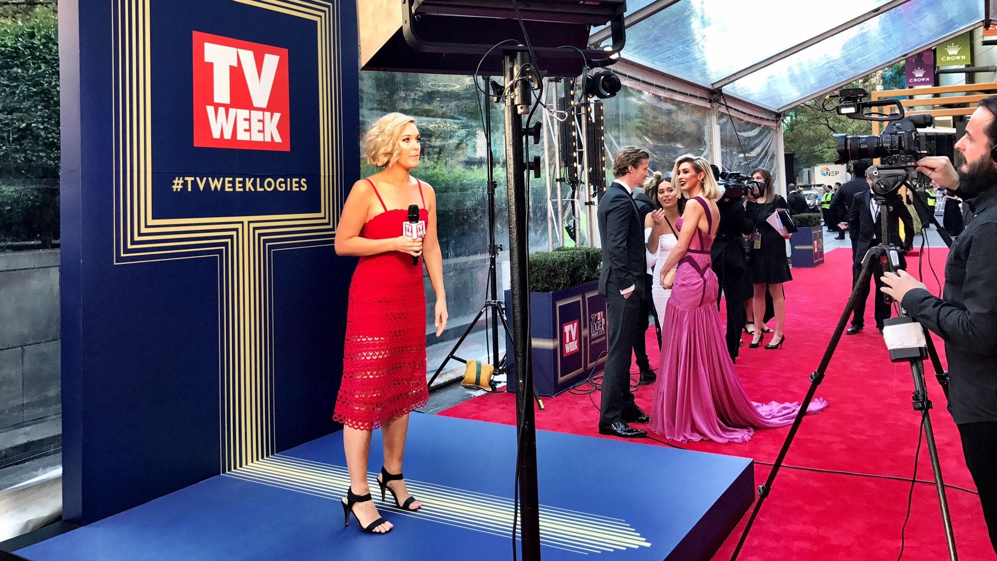 TV Week Logies Red Carpet