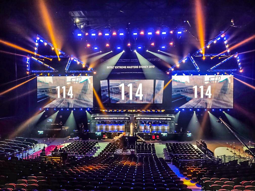 Intel extreme Master 2019 @ Qudos Bank Arena, Sydney