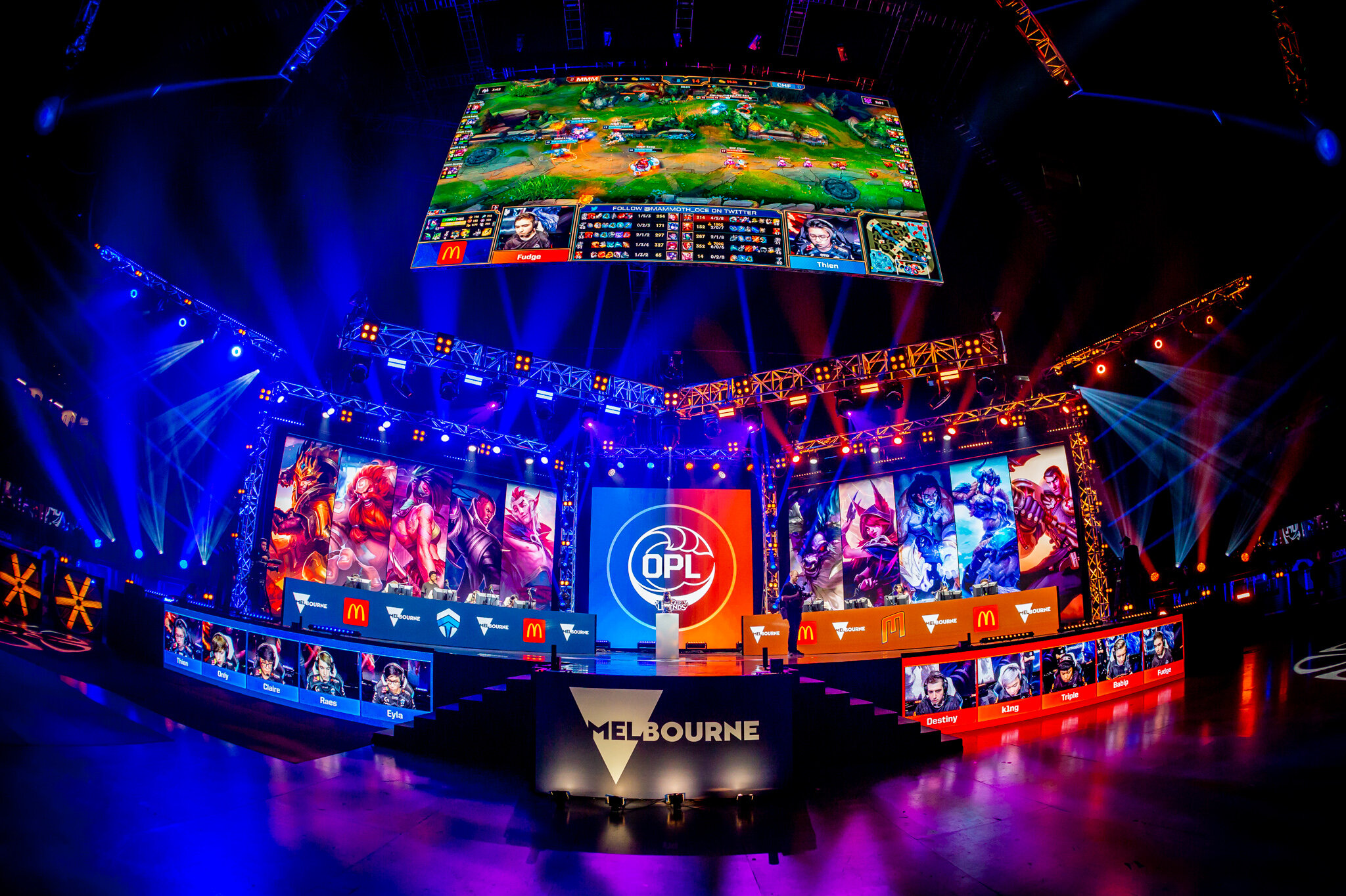 League of Legends OPL finals for MEO 2019