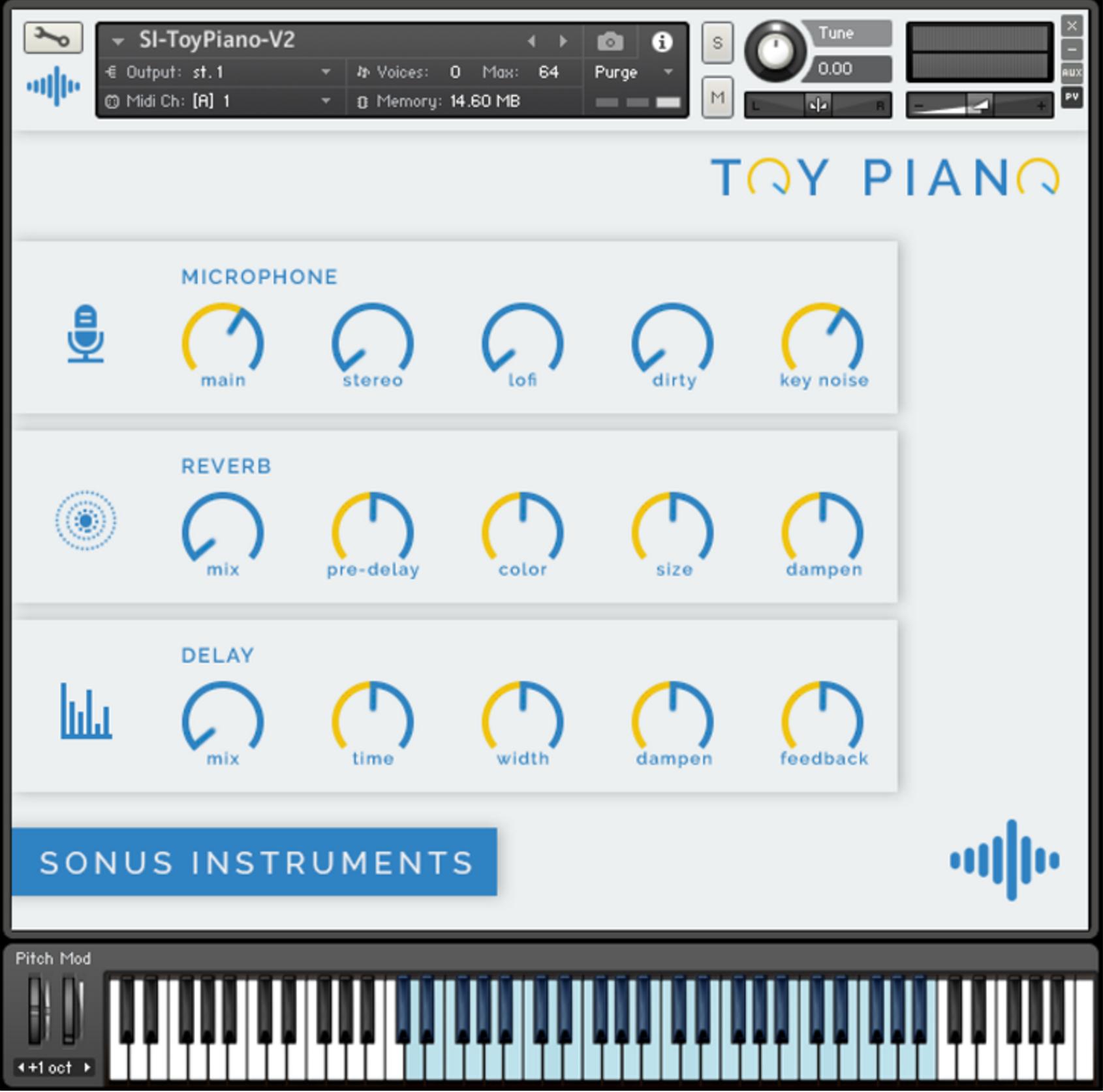 Toy Piano - Sonus Instruments