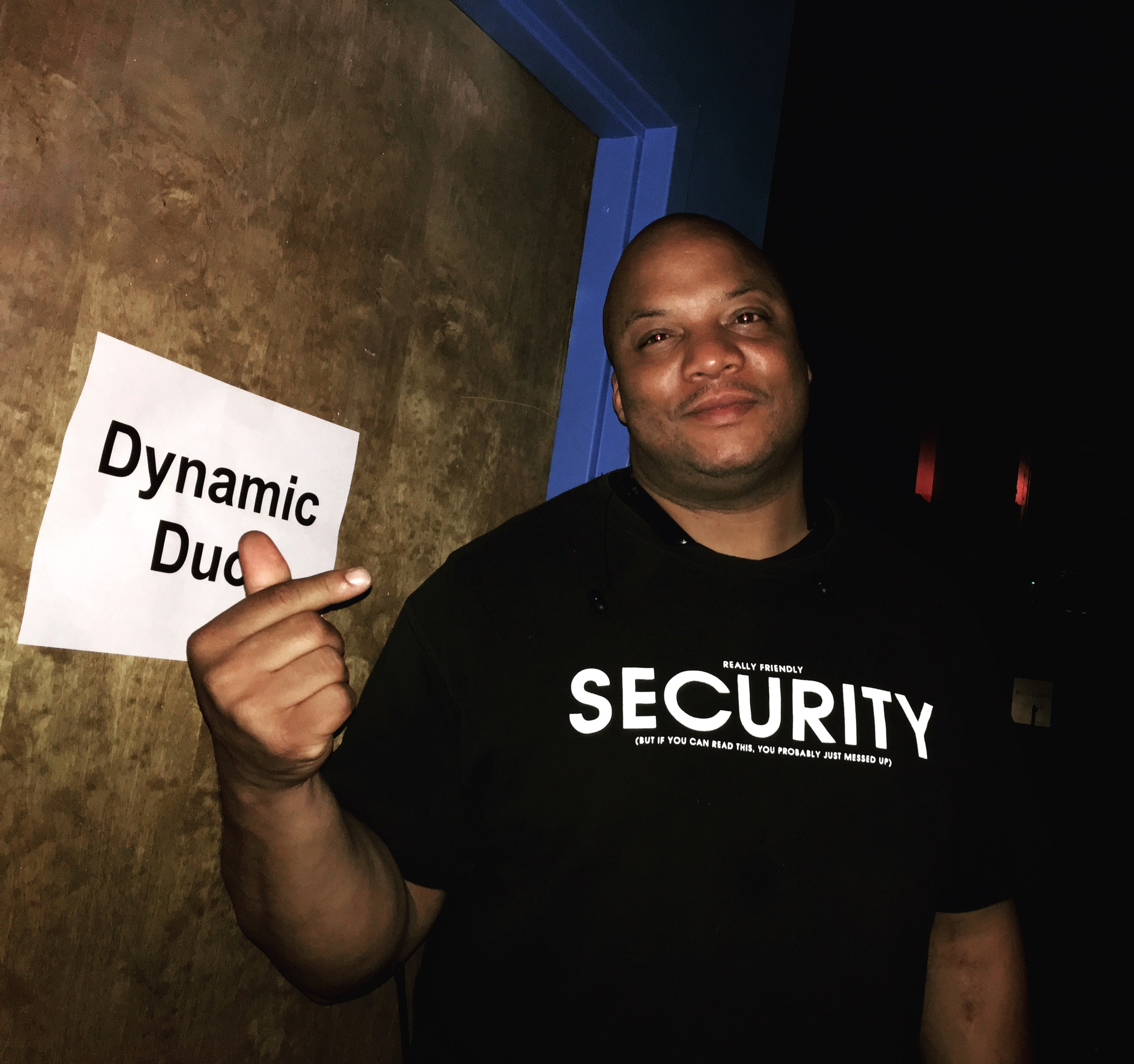 Security from Dynamic Duo Grand Carnival 2016 in Atlanta.