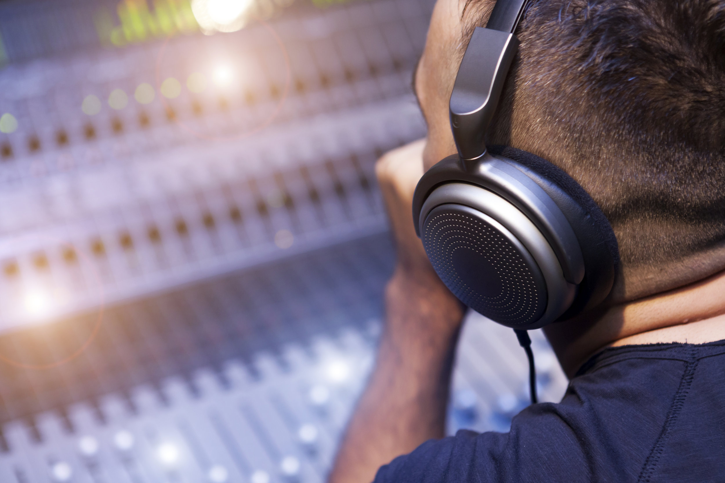 Working On Sound Mixer