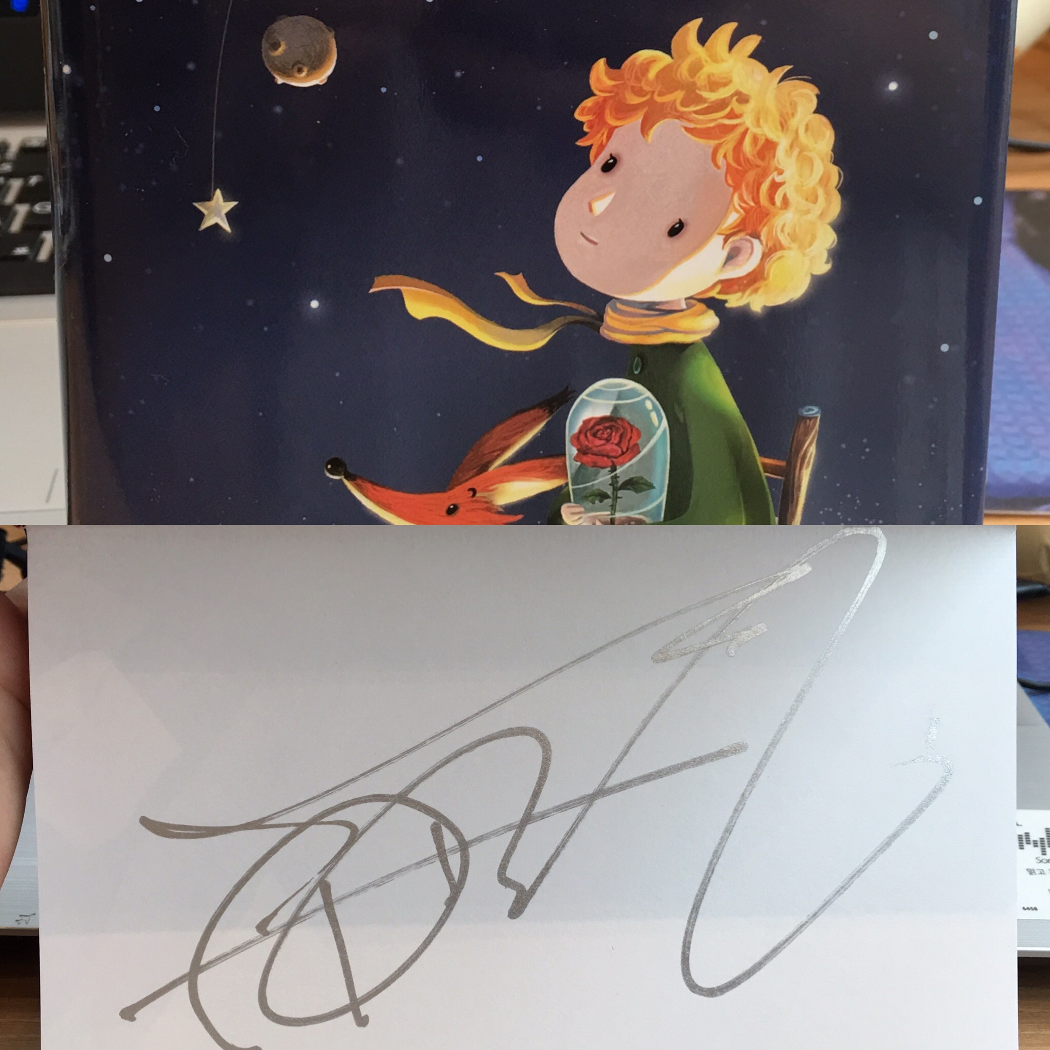 Park Kyung's The Little Prince book