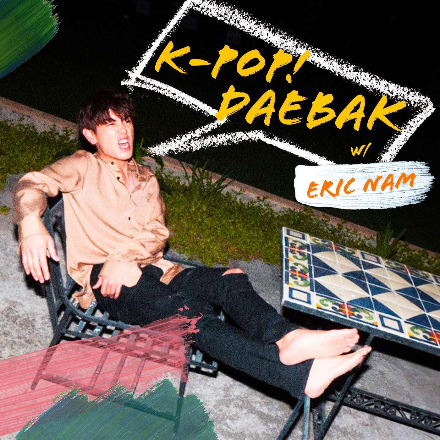 Listen to his podcast HERE:  K-Pop Daebak with Eric Nam
