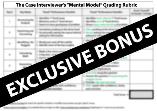 Case Interview Prep - The Definitive Guide (2019) — Pass The Case