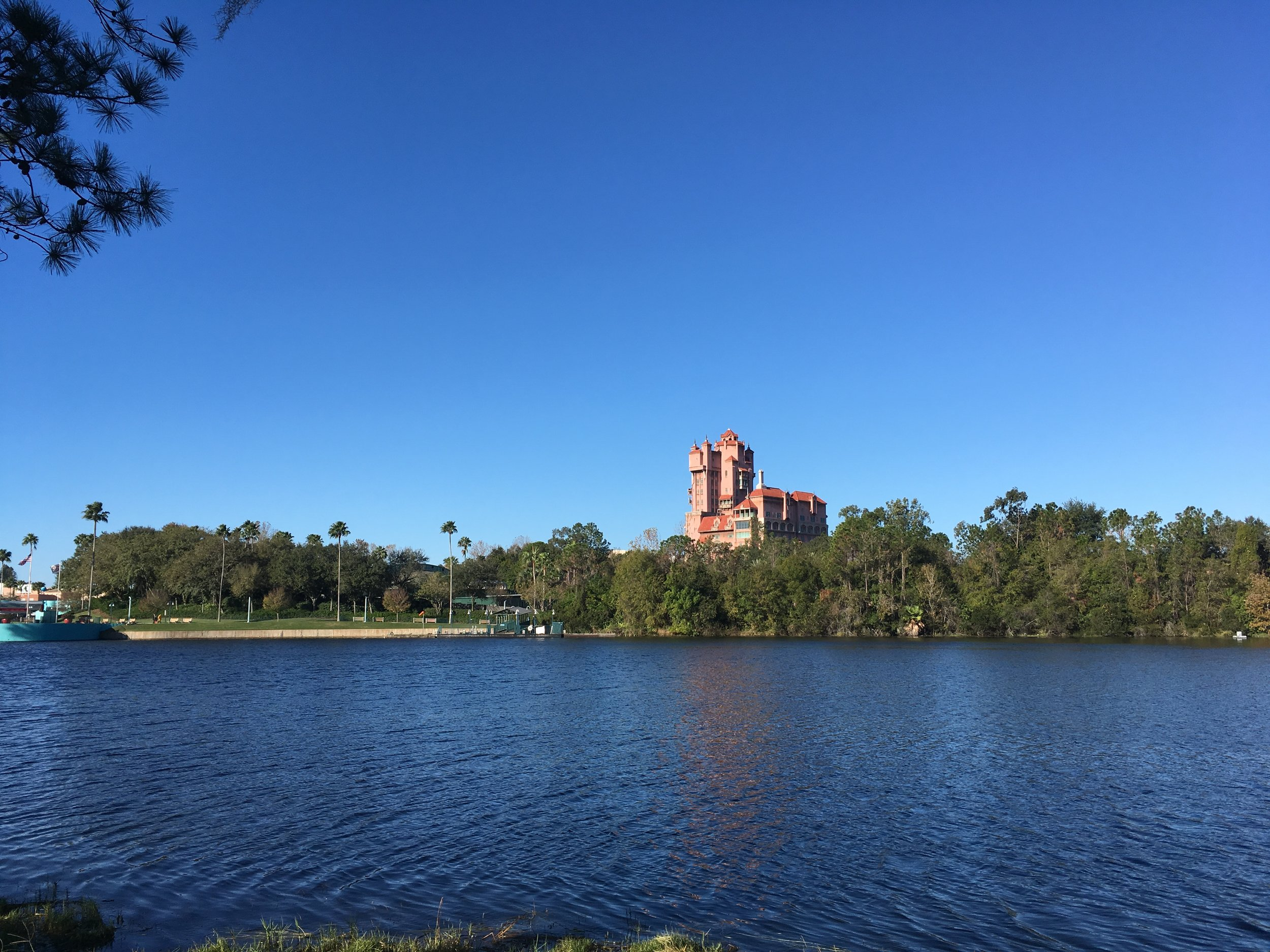 We love the walk from the Boardwalk to Hollywood Studios
