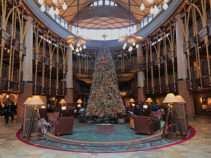 One of Disney's finest lobbies is at Disney Explorers Lodge.
